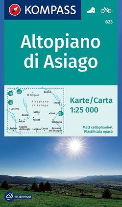 Altopiano di Asiago von KOMPASS-Karten GmbH