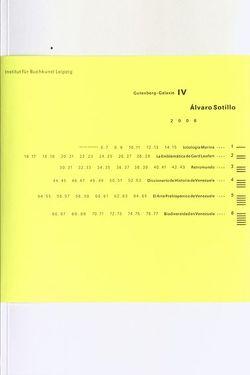 Àlvaro Sotillo von Institut für Buchkunst Leipzig an der Hochschule für Grafik und Buchkunst Leipzig, Sotillo,  Alvaro
