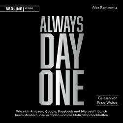 Always Day One von Kantrowitz,  Alex, Wegberg,  Jordan, Wolter,  Peter