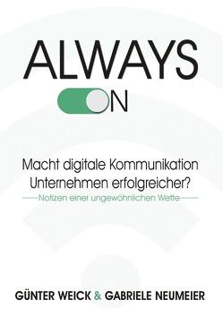 Always on von Neumeier,  Gabriele, Weick,  Günter