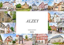 Alzey Impressionen (Tischkalender 2021 DIN A5 quer) von Meutzner,  Dirk