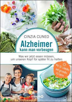 Alzheimer kann man vorbeugen von Cuneo,  Cinzia, Krabbe,  Wiebke