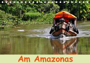Am Amazonas (Tischkalender 2020 DIN A5 quer) von Lindner,  Ulrike