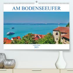 Am Bodenseeufer (Premium, hochwertiger DIN A2 Wandkalender 2021, Kunstdruck in Hochglanz) von Janke,  Andrea