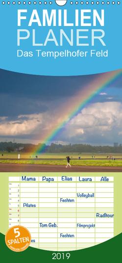 Am Ende des Regenbogens. Das Tempelhofer Feld – Familienplaner hoch (Wandkalender 2019 , 21 cm x 45 cm, hoch) von Drews,  Marianne