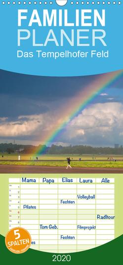 Am Ende des Regenbogens. Das Tempelhofer Feld – Familienplaner hoch (Wandkalender 2020 , 21 cm x 45 cm, hoch) von Drews,  Marianne