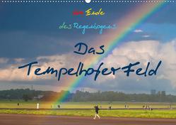 Am Ende des Regenbogens. Das Tempelhofer Feld (Wandkalender 2021 DIN A2 quer) von Drews,  Marianne