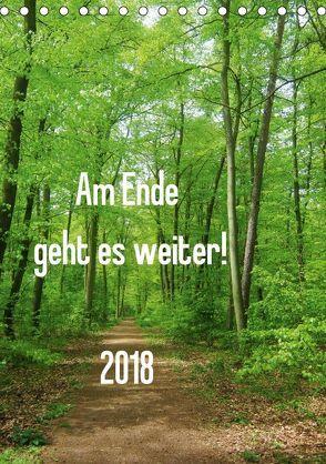 Am Ende geht es weiter! 2018 (Tischkalender 2018 DIN A5 hoch) von N.,  N.