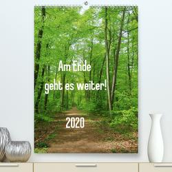 Am Ende geht es weiter! 2020 (Premium, hochwertiger DIN A2 Wandkalender 2020, Kunstdruck in Hochglanz) von N.,  N.