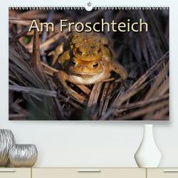 Am Froschteich (Premium, hochwertiger DIN A2 Wandkalender 2020, Kunstdruck in Hochglanz) von Berg,  Martina