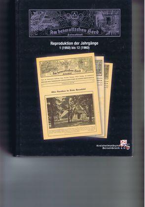 Am heimatlichen Herd – Heimatblatt – Nachdruck der Zeitungsbeilagen von 1961-1990