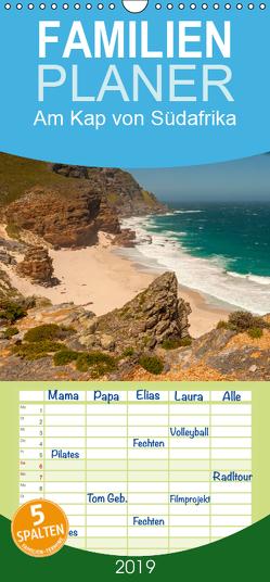 Am Kap von Südafrika – Familienplaner hoch (Wandkalender 2019 , 21 cm x 45 cm, hoch) von Seifert,  Birgit