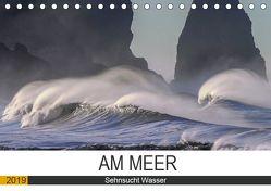 Am Meer. Sehnsucht Wasser (Tischkalender 2019 DIN A5 quer) von Hurley,  Rose