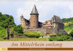 Am Mittelrhein entlang – Sehenswerte Burgen (Wandkalender 2020 DIN A3 quer) von Klatt,  Arno