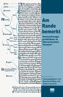 Am Rande bemerkt von Metz,  Bernhard, Zubarik,  Sabine