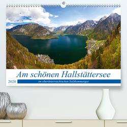 Am schönen Hallstättersee im oberösterreichischen Salzkammergut (Premium, hochwertiger DIN A2 Wandkalender 2020, Kunstdruck in Hochglanz) von Kramer,  Christa