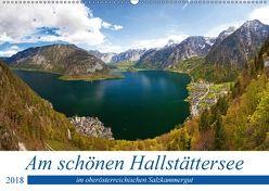 Am schönen Hallstättersee im oberösterreichischen Salzkammergut (Wandkalender 2018 DIN A2 quer) von Kramer,  Christa