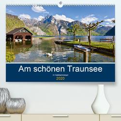 Am schönen Traunsee im Salzkammergut (Premium, hochwertiger DIN A2 Wandkalender 2020, Kunstdruck in Hochglanz) von Kramer,  Christa
