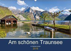 Am schönen Traunsee im Salzkammergut (Wandkalender 2018 DIN A2 quer) von Kramer,  Christa