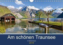Am schönen Traunsee im Salzkammergut (Wandkalender 2018 DIN A4 quer) von Kramer,  Christa