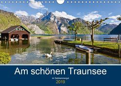 Am schönen Traunsee im Salzkammergut (Wandkalender 2019 DIN A4 quer)