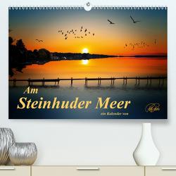 Am Steinhuder Meer (Premium, hochwertiger DIN A2 Wandkalender 2021, Kunstdruck in Hochglanz) von Roder,  Peter
