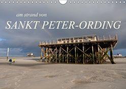 am strand von SANKT PETER-ORDING (Wandkalender 2018 DIN A4 quer) von Drefahl,  Björn