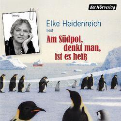 Am Südpol, denkt man, ist es heiß von Heidenreich,  Elke, Stahl,  Hayo