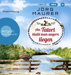 Am Tatort bleibt man ungern liegen von Maurer,  Jörg