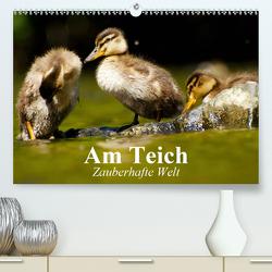Am Teich. Zauberhafte Welt (Premium, hochwertiger DIN A2 Wandkalender 2020, Kunstdruck in Hochglanz) von Stanzer,  Elisabeth