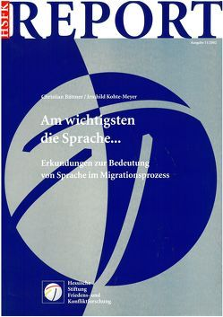 Am wichtigsten die Sprache… von Büttner Christian, Kohte-Meyer,  Irmhild