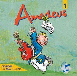 Amadeus 1, HRG, Kl. 5/6 von Küntzel,  Bettina, Lugert,  Wulf D
