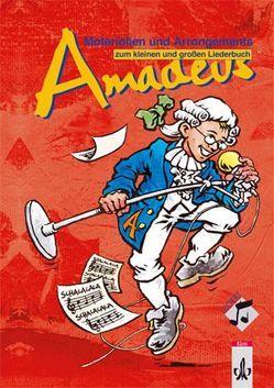 Amadeus- Materialien und Arrangements zum kleinen und großen Liederbuch