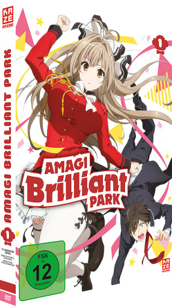 Amagi Brilliant Park – DVD 1 von Takemoto,  Yasuhiro