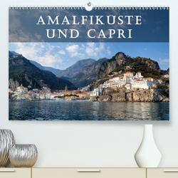 Amalfiküste und Capri (Premium, hochwertiger DIN A2 Wandkalender 2021, Kunstdruck in Hochglanz) von Kruse,  Joana