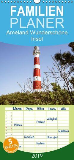 Ameland Wunderschöne Insel – Familienplaner hoch (Wandkalender 2019 , 21 cm x 45 cm, hoch) von Herzog,  Gregor