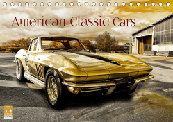 American Classic Cars (Tischkalender 2019 DIN A5 quer) von Chrombacher,  Christian