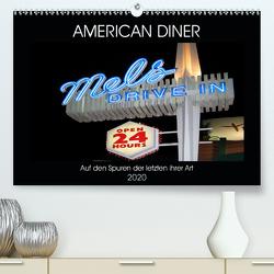 American Diner – Auf den Spuren der letzten ihrer Art (Premium, hochwertiger DIN A2 Wandkalender 2020, Kunstdruck in Hochglanz) von Robert,  Boris