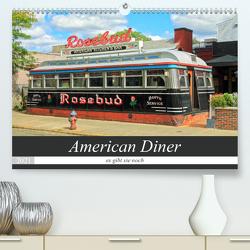 American Diner – es gibt sie noch (Premium, hochwertiger DIN A2 Wandkalender 2021, Kunstdruck in Hochglanz) von gro