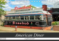 American Diner – es gibt sie noch (Tischkalender 2021 DIN A5 quer) von gro