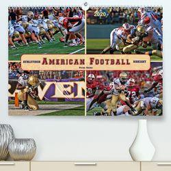 American Football – athletisch und riskant (Premium, hochwertiger DIN A2 Wandkalender 2020, Kunstdruck in Hochglanz) von Roder,  Peter
