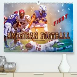 American Football – Fight (Premium, hochwertiger DIN A2 Wandkalender 2020, Kunstdruck in Hochglanz) von Roder,  Peter