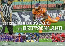 American Football in Deutschland 2022 – Foto-Kalender – Wand-Kalender – 42×29,7 – Sport