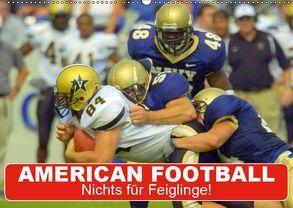 American Football. Nichts für Feiglinge! (Wandkalender 2019 DIN A2 quer) von Stanzer,  Elisabeth