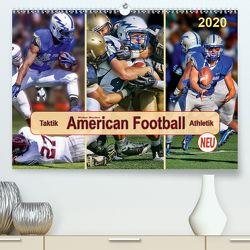 American Football – Taktik und Athletik (Premium, hochwertiger DIN A2 Wandkalender 2020, Kunstdruck in Hochglanz) von Roder,  Peter