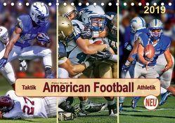 American Football – Taktik und Athletik (Tischkalender 2019 DIN A5 quer) von Roder,  Peter