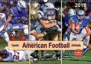 American Football – Taktik und Athletik (Wandkalender 2018 DIN A3 quer) von Roder,  Peter