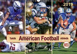 American Football – Taktik und Athletik (Wandkalender 2019 DIN A3 quer) von Roder,  Peter