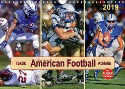 American Football – Taktik und Athletik (Wandkalender 2019 DIN A4 quer) von Roder,  Peter