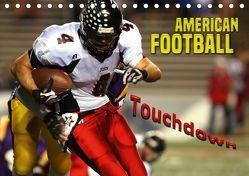 American Football – Touchdown (Tischkalender 2018 DIN A5 quer) von Bleicher,  Renate